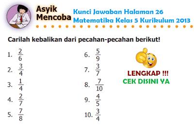 Kunci Jawaban Halaman 26 Matematika Kelas 5 Kurikulum 2013 www.simplenews.me