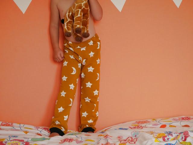 Pyjamabroek - maan en sterren