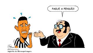 Resultado de imagem para CHARGES  PENSAO ALIMENTICIA