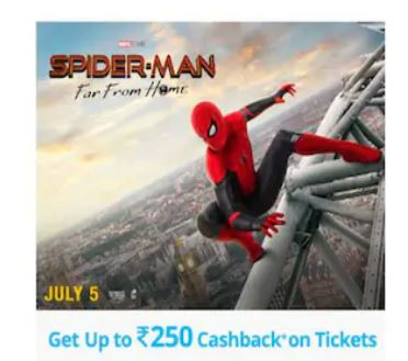 PayTM Movie Loot – Get 50% Flat Off on 2 Movie Tickets