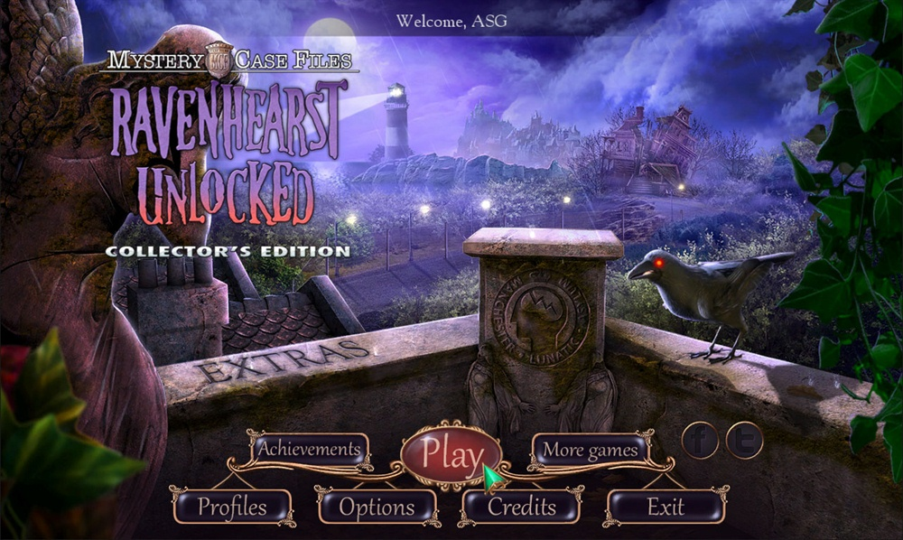 Mystery Case Files Ravenhearst Unlocked Collector's Edition Poster