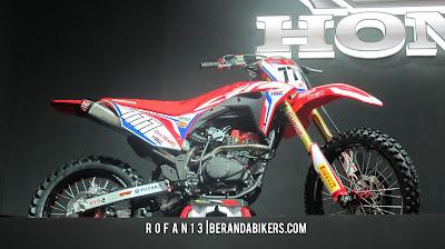 Honda CRF 150 Konsep, mirip mirip New Megapro nih mesinnya