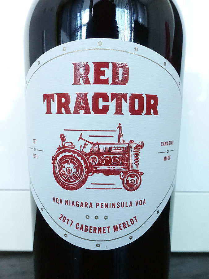 Creekside Red Tractor Cabernet/Merlot 2017 (88 pts)
