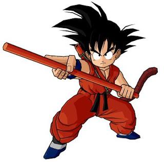 Goku personagem do desenho Dragon Ball