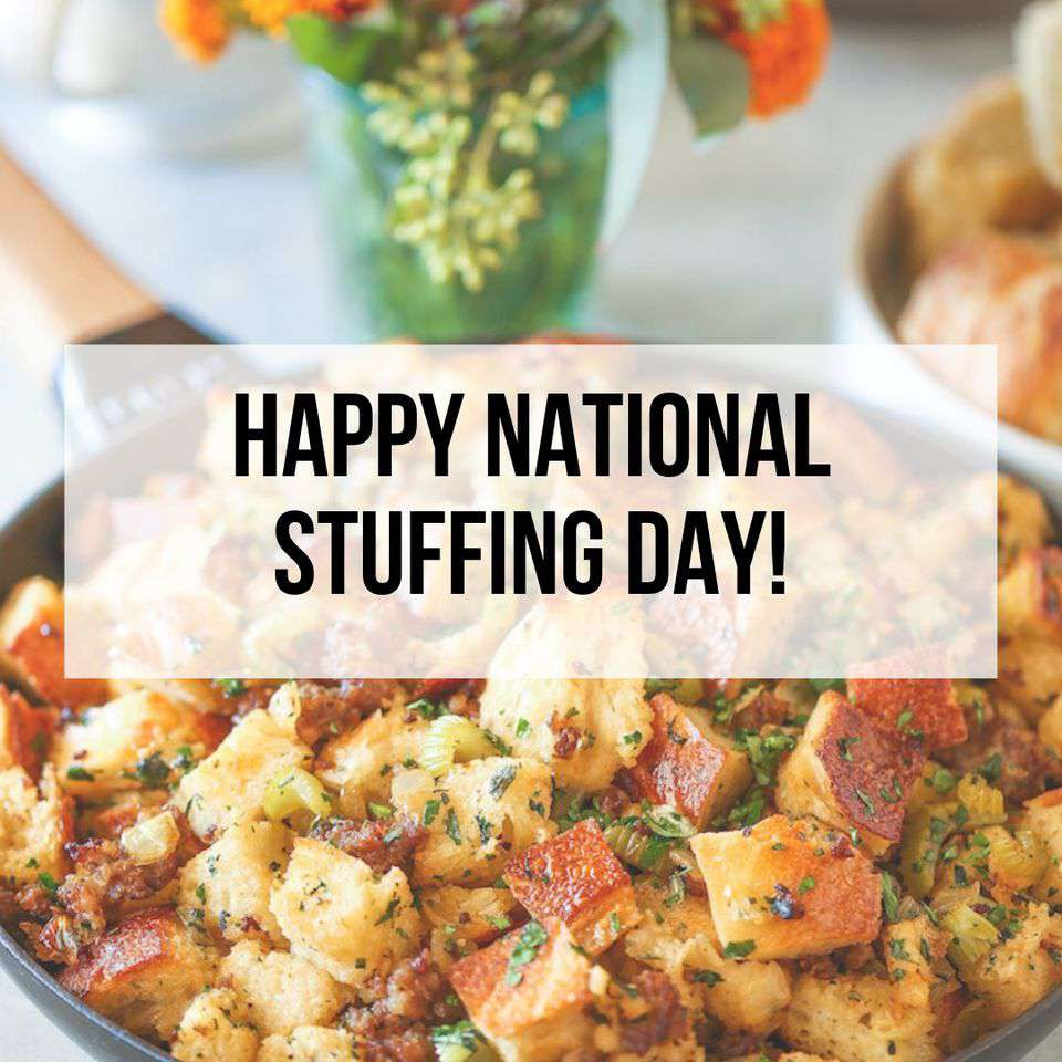 National Stuffing Day Wishes for Whatsapp
