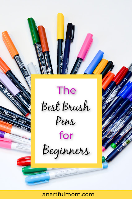 some of the best brush pens for beginners