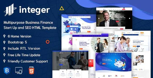 Best Creative Digital Agency HTML5 Template