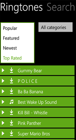 Free Ringtones WP
