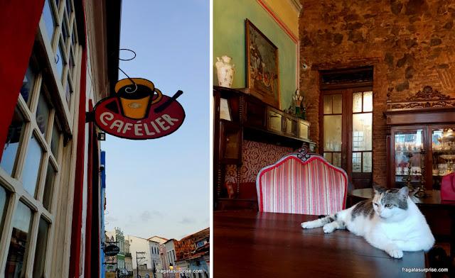 Café Cafélier, Santo Antônio, Centro Histórico de Salvador