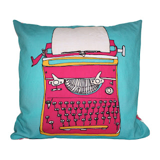 Bouf Typewriter cushion