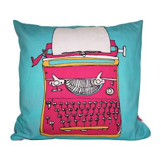 Bouf Typewriter cushion