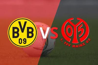 بث مباشر: مشاهدة مباراة بوروسيا دورتموند وماينز اليوم الدوري الالماني