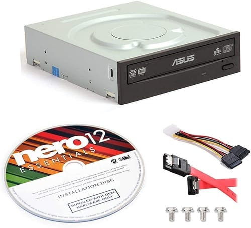 Review Asus DRW-24B1ST-KIT 24x Internal DVD Drive