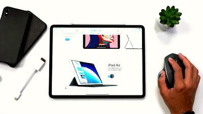 iPadOS sudah mendukung mouse