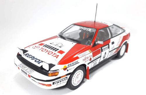 WRC collection 1:24 salvat españa, Toyota Celica GT-4 1:24