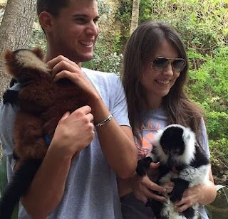 Dominic Thiem And Romana Exenberger Visiting The Zoo