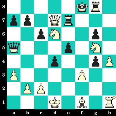 Les Blancs jouent et matent en 2 coups - Johnatan Bakalchuk vs Alessio Valsecchi, Internet, 2020