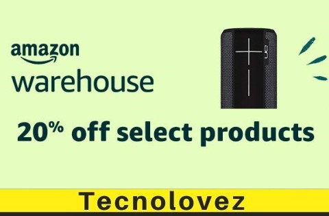 Offerta Amazon Warehouse Deals - Sconto del 20% per molti prodotti Warehouse