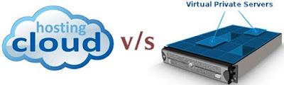 Perbedaan cloud hosting dan VPS hosting
