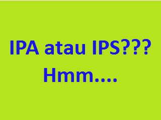 ilustrasi IPA atau IPS