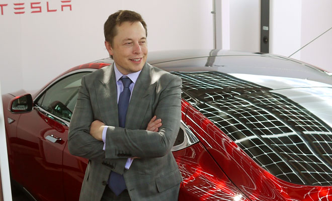 Elon Musk opens first UK Supercharger station