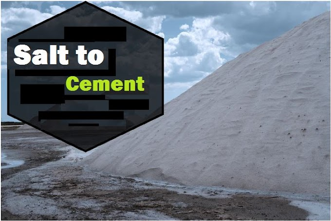 How UAE Architects make Cement out of Salt?