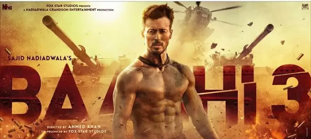 Baaghi 3 Full Movie In Hindi 720p-480p Download Leaked Online By Tamilrockers