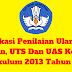 Aplikasi Penilaian Ulangan Harian, UTS Dan UAS Kelas 2 Kurikulum 2013 Tahun 2019 - Administrasi Guruku