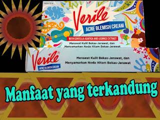 Verile acne blewish cream