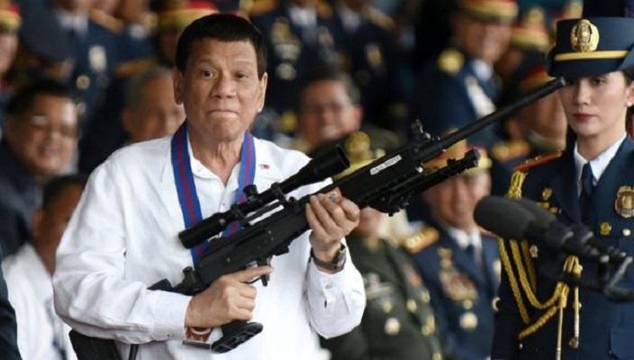 Presiden Filipina Perintahkan Tembak Mati Pemberontak Komunis