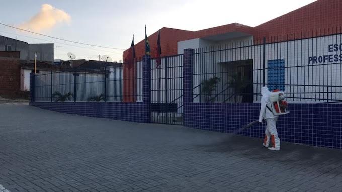 Prefeitura Municipal de Umbuzeiro realiza pulverização no Bairro do Matadouro