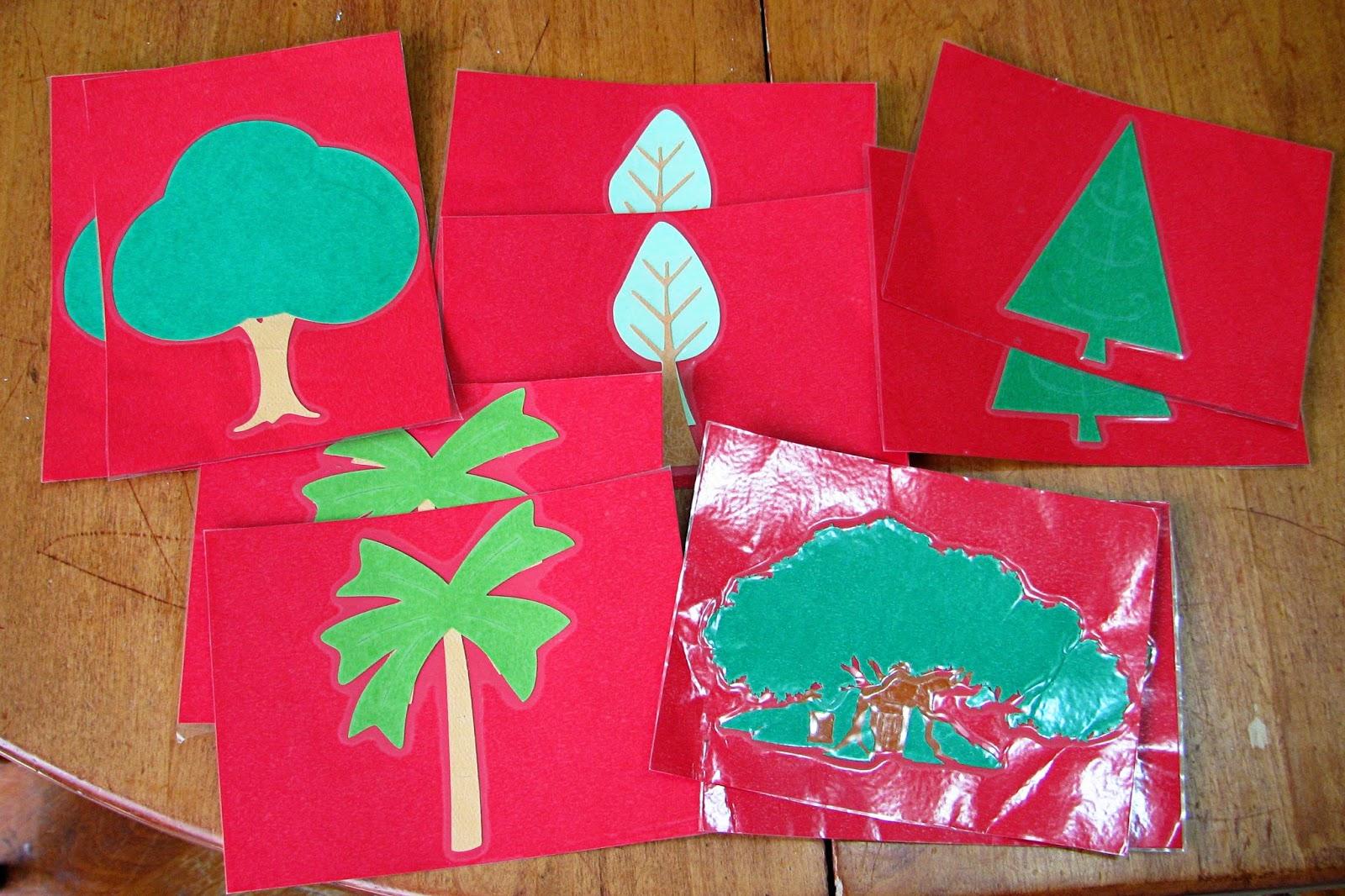 Mommy S Little Helper Trees Preschool Theme