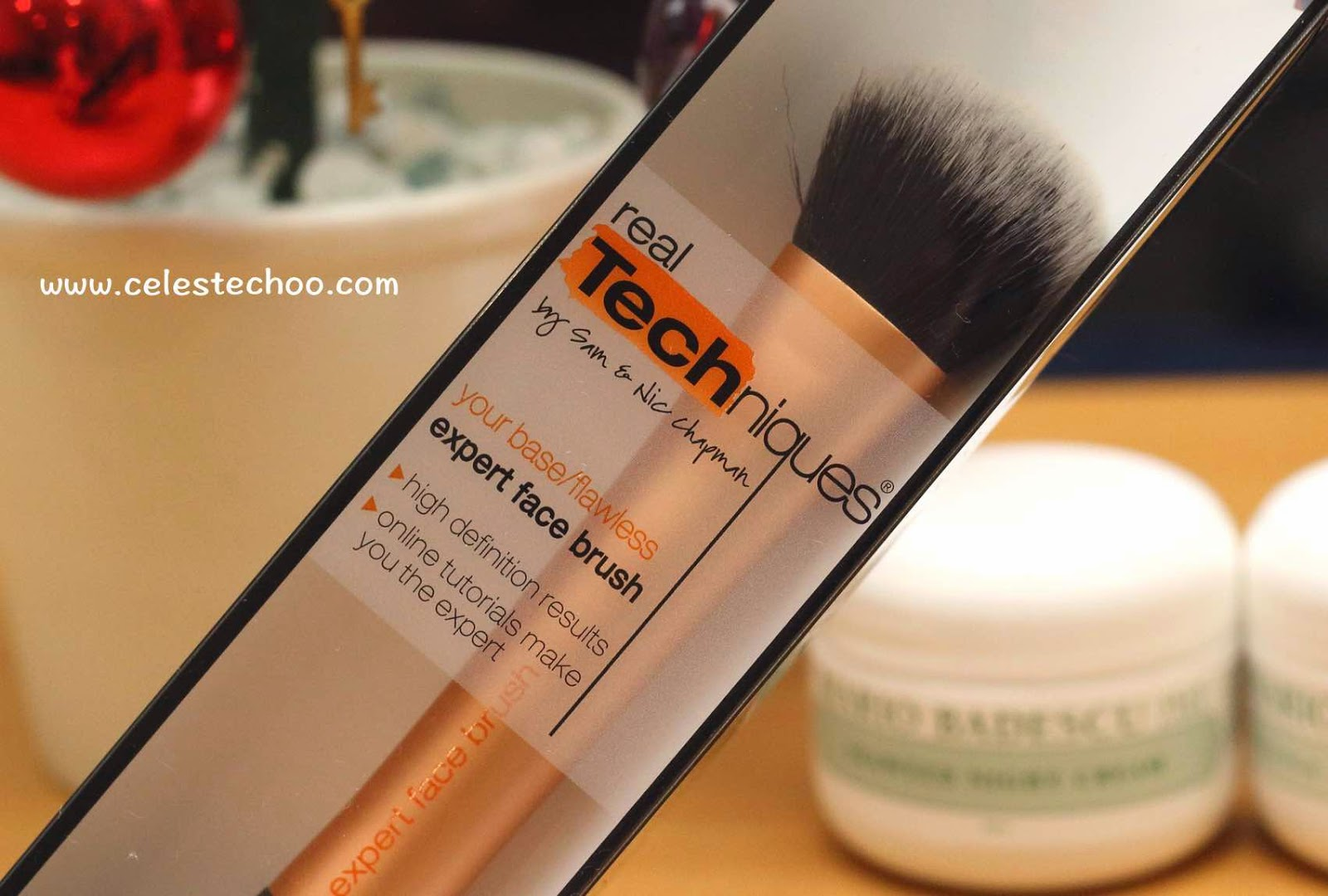 Celestechoo Com Real Techniques Expert Face Brush Review