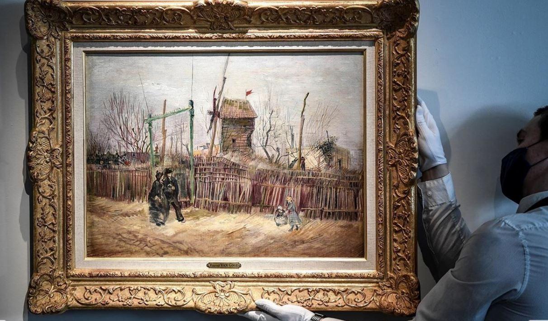 لوحة لفان غوخ تحقق 14 مليون يورو في مزاد بباريس
