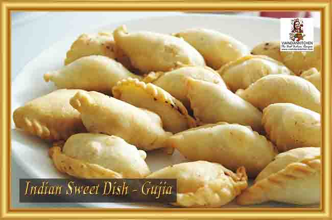Indian Sweet Dishes - Gujia