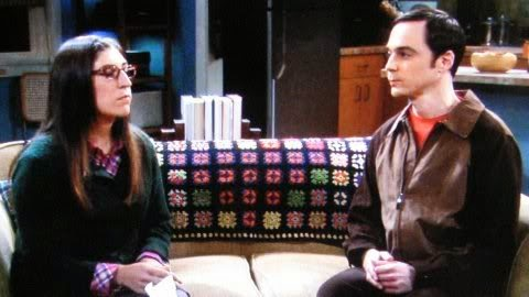 Crochet on TV - Big Bang Theory