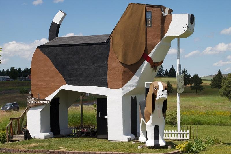 Dog Bark Park Inn - World's Biggest Beagle
