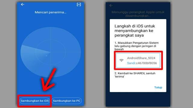 Cara Kirim File dari Android ke iPhone (iOS) Pakai SHAREit