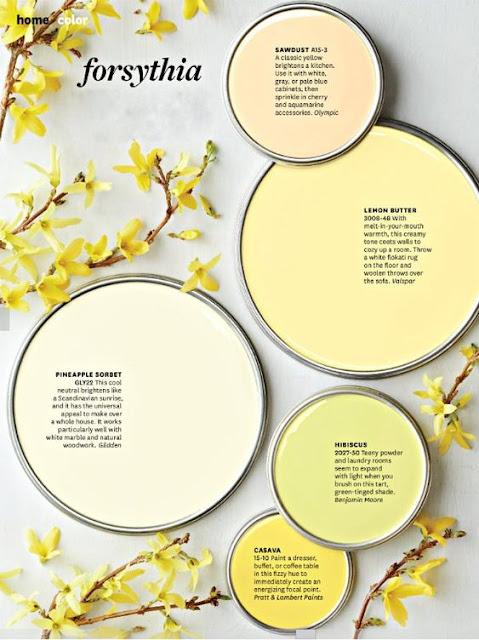 5 Spring Color Palettes