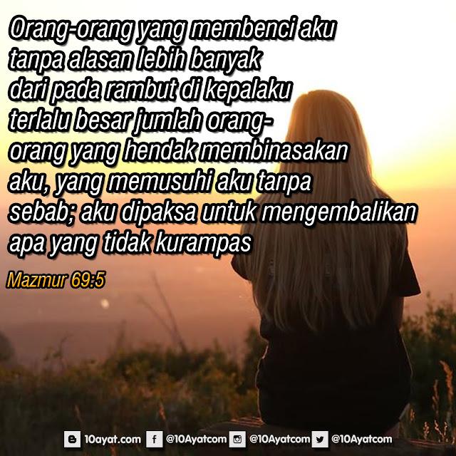 Mazmur 69:5