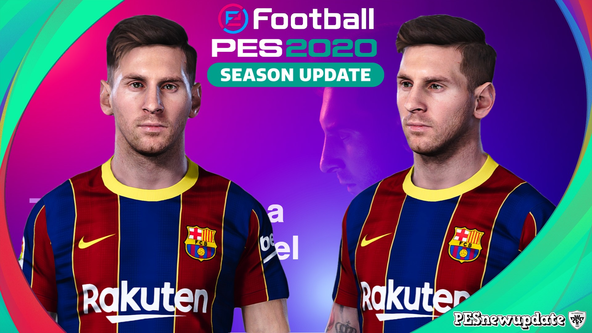 PES 2020 Faces Lionel Messi Like PES 2021 ~ PESNewupdate ...
