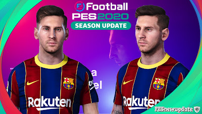 PES 2020 Faces Lionel Messi Like PES 2021