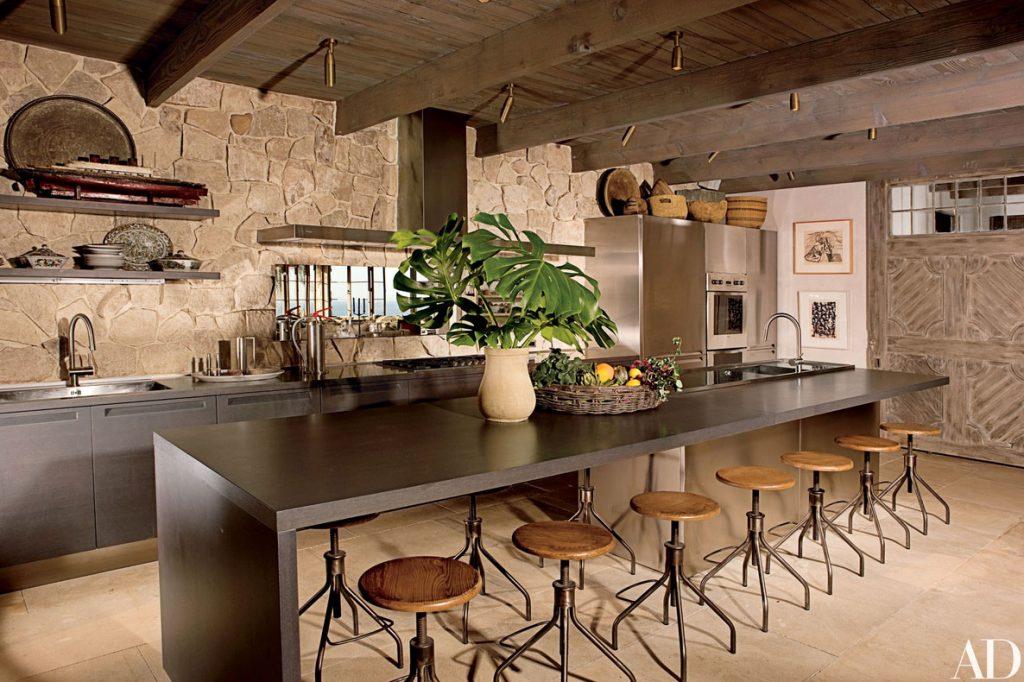 Rustikale Küchenschränke ideen design eine schöne rustikale küche küche für eine angenehme