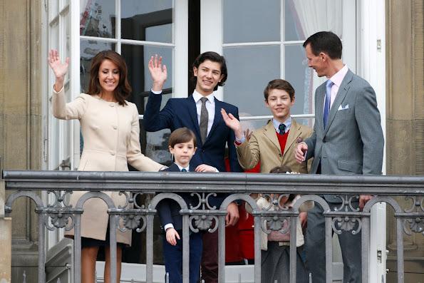 Prince Joachim of Denmark, Princess Marie of Denmark, Prince Nikolai of Denmark, Prince Felix, Princess Athena