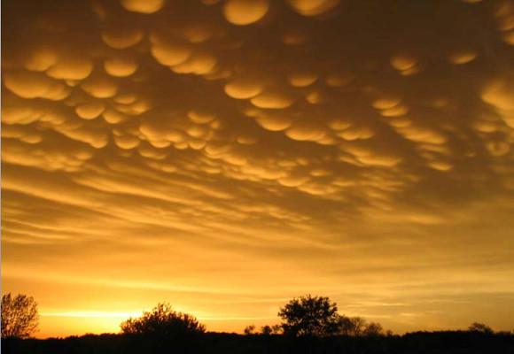 Mammatus-nuvens