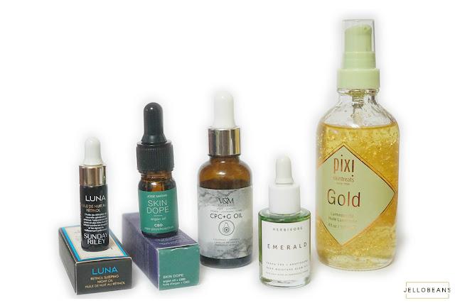 Sneak Peek: Beauty Oils from Sunday Riley, Josie Maran, V&M, Herbivore, Pixi
