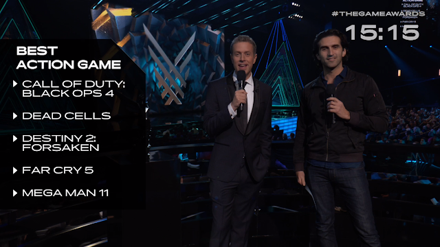 The Game Awards 2018 Geoff Keighlet Josef Fares Best Action Game nominations pre-show