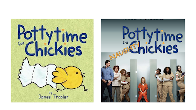 Orange is the New Black - Pottytime for Chickies