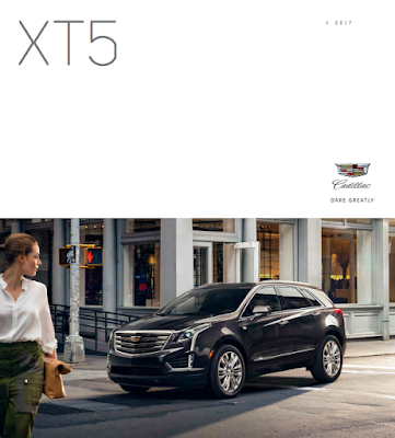 Downloadable 2017 Cadillac XT5 Brochure