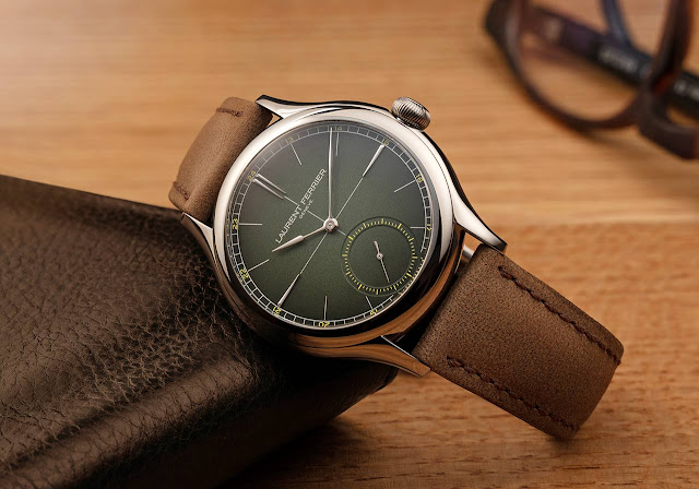 Laurent Ferrier Classic Origin Green ref. LCF036.TI.VG